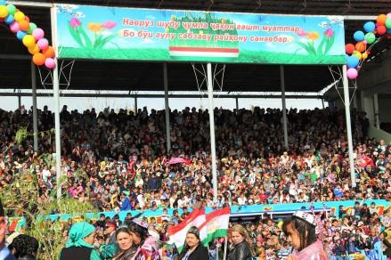 Nowruz celebrations Tajikistan